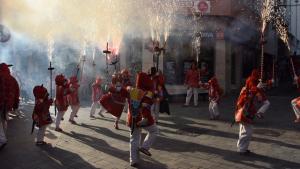 El Ball de Diables Infantil de Torredembarra, un dels principals protagonistes d'aquest divendres.