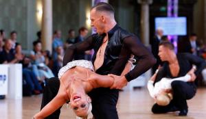 El ballador Gerard Ferré en la competició Dance Comp Wuppertal, a Alemanya