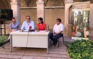 El claustre del Convent de les Arts ha acollit la roda de premsa de presentació del festival d'enguany