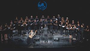El concert d'Anabel Montesinos i el Cor Ciutat de Tarragona va ser él més multitudinari.