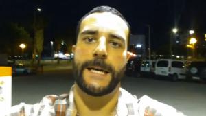 El conegut militant de VOX, Jordi De la Fuente, va penjar un vídeo al seu perfil de Twitter on justificava els fets ocorreguts