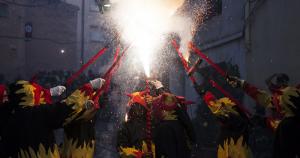 El correfoc de la Festa Major de Vila-rodona