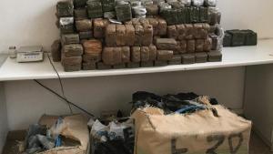 El detingut transportava 573 kg d'haixix en una furgoneta robada