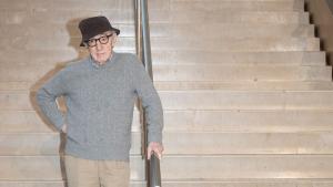 El director Woody Allen en la presentación de su nueva película, la cual se rodará íntegramente en San Sebastián