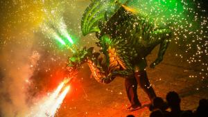 El foc com a element protagonista de la Festa Major de Sant Pere de Reus