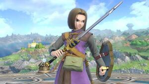 El Héroe, el nuevo personaje de  'Super Smash Bros. Ultimate'