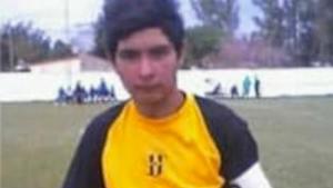 El joven Ramón Ismael durante un partido