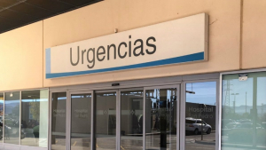 El motorista herido fue trasladado al hospital San Pedro de Logroño
