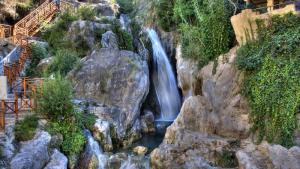 El paratge natural de les Fonts de l'Algar, lloc a on s'ha produït la caiguda