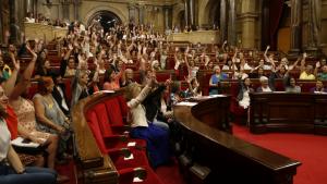 El Parlament de les Dones s'ha celebrat aquest dilluns a la cambra catalana