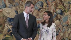 El pequeño desencuentro entre Felipe y Letizia