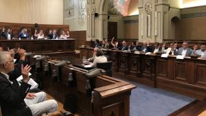 El ple de la Diputació de Tarragona d'aquest dimarts.