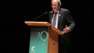El president Quim Torra ha avançat que unes eleccions anticipades no formen part dels seus plans