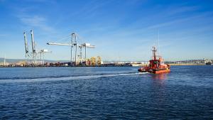 El simulacre al Port de Tarragona ha començat a primera hora del matí