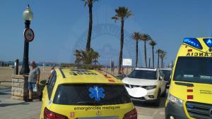 El Sistema d'Emergències Mèdiques ha atés un banyista a la platja de Coma-ruga
