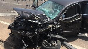 Els bombers alliberen als 6 ferits de l'accident de Benicàssim