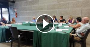 Els nous vocals van ocupar les seves cadires en la primera sessió del plenari bellaterrenc