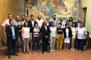Els quatre grups polítics amb representació al Consell Comarcal (ERC, Junts per Catatalunya, FIC i PSC) han format un govern d'unitat