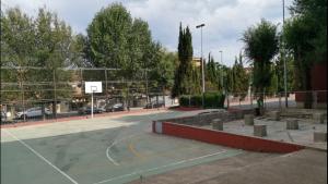 Els veïns de La Floresta volen que la pista torni a tenir ús esportiu per als nens i joves del barri.