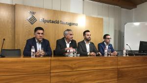 ERC i JxCat presenten l'acord per fer Llauradó presidenta de la Diputació