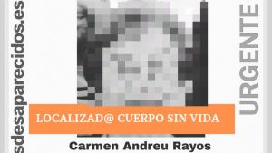 Es troba el cadàver de Carmen Andreu