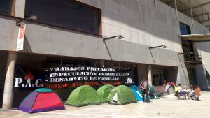 Families desnonades a Badalona