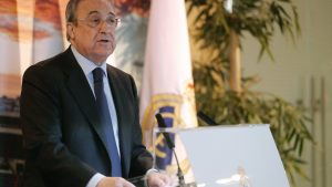 Florentino Pérez podria «apadrinar» un fill de Reyes
