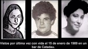 Francisco, Rosario y María Pilar desaparecieron el 15 de enero de 1989 en Macastre