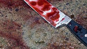 Ganivet en sang d'arxiu