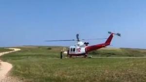 Helicóptero de Cantabria