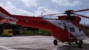 Helicóptero del 112 de Canarias