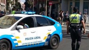 Imagen de archivo de la policía local de Las Palmas de Gran Canaria.