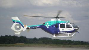 Imagen de archivo de un helicóptero de Osakidetza.
