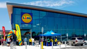 Imagen de archivo de un supermercado de la cadena alemana Lidl
