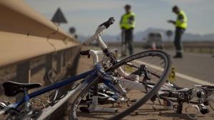 Imagen de archivo del accidente de un ciclista