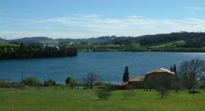 Imagen de archivo del Embalse de Trasona, en Corvera, Asturias