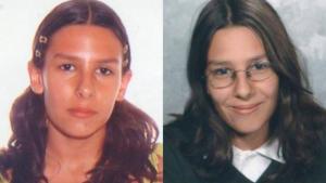 Imagen de Sara Morales en el 2006, cuando desapareció