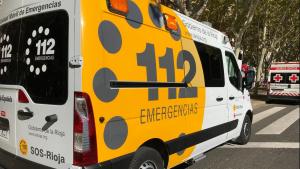 Imagen de una ambulancia de SOS Rioja 112