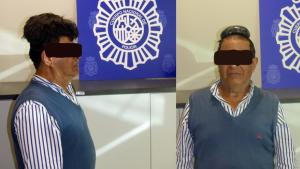 Imagen del hombre detenido por la Policía por llevar droga oculta en su peluquín