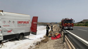 Imagen del operativo de rescate desarrollado en la RM-15