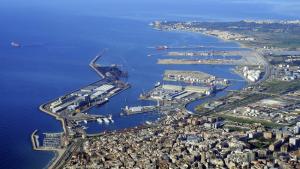 Imatge aèria de la ciutat i el Port de Tarragona
