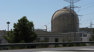 Imatge de la central nuclear de Vandellòs II