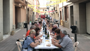 Imatge de la Festa del Carrer Sant Antoni.