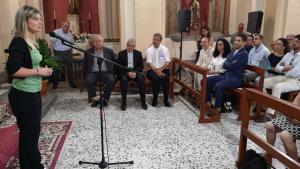 Imatge de la inauguració a càrrec de la presidenta de la Diputació, Noemí Llauradó.