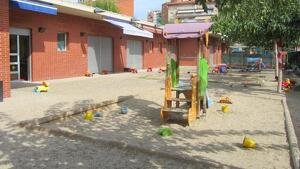 Imatge de la Llar d'Infants Cèsar August, un dels darrers centres que s'ha sumat al llistat de llars gestionades per l'Ajuntament.