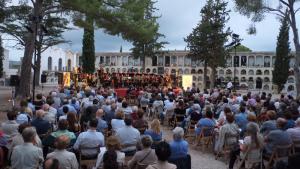 Imatge de la primera edició del 'Concert per al record', l'any 2016