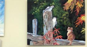 Imatge de les obres que s'exposen a la Fecoll