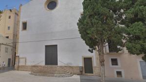 Imatge de l'església de la Trinitat a la plaça del Rei de Tarragona.
