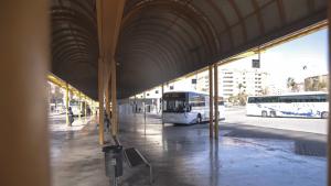 Imatge de l'estació d'autobusos de Reus