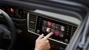 Imatge de l'interior del SEAT Ateca.